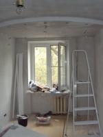 В процессе ремонта комнаты